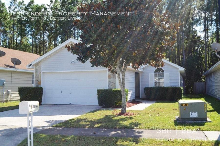 Street view of 96148 Tibal Bay Court in Yulee, Florida